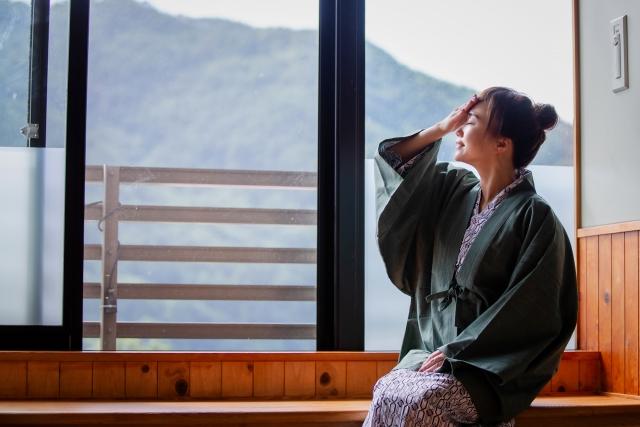 仙台にある露天風呂付客室