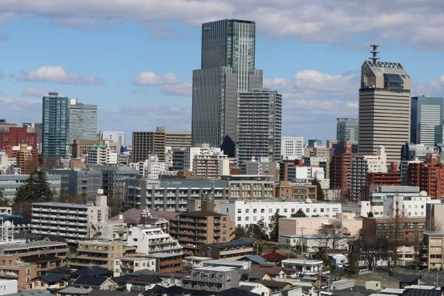 お昼に撮った仙台の風景