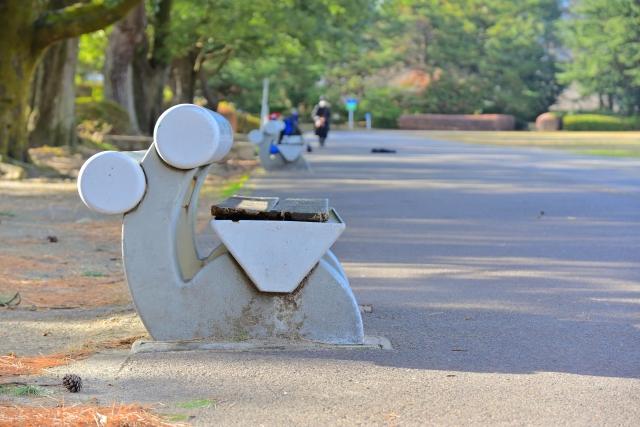 榴岡公園のランニングコース